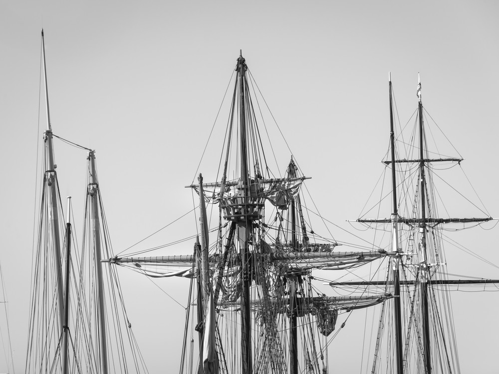 Schooner, Galleon and Topsail Schooner Rigs