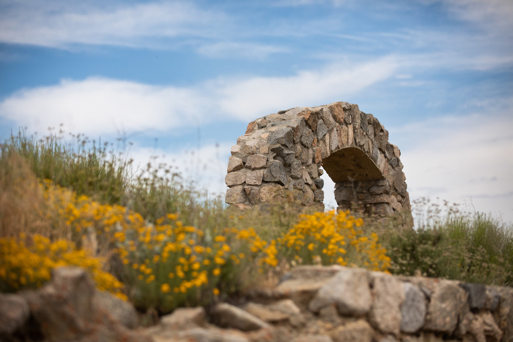 Arch In The Spring Photography Art | Sydney Croasmun Photography