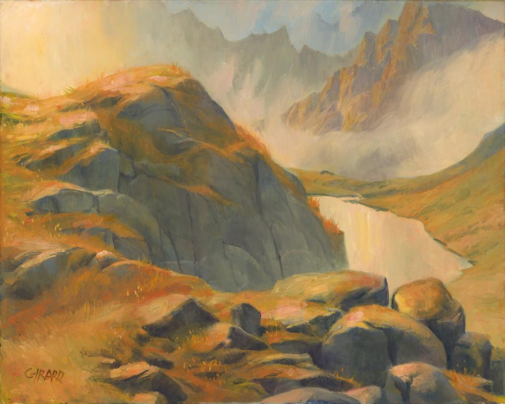 Mountain Perch Art | Studio Girard