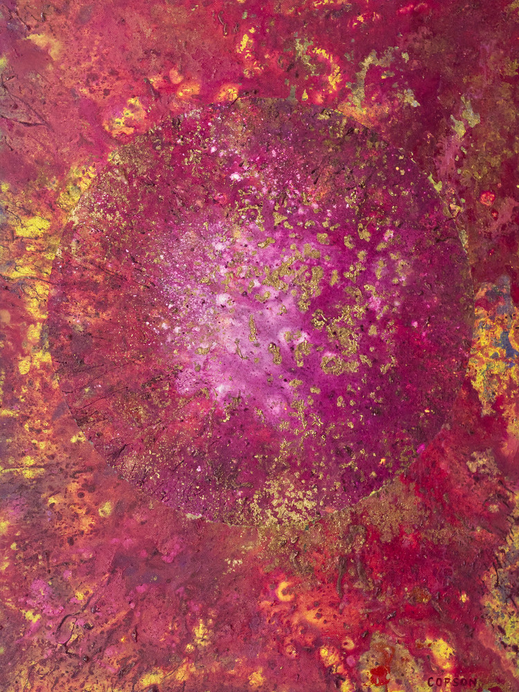 Event Horizon #7 Giclee reproduction of cosmic art by David Copson