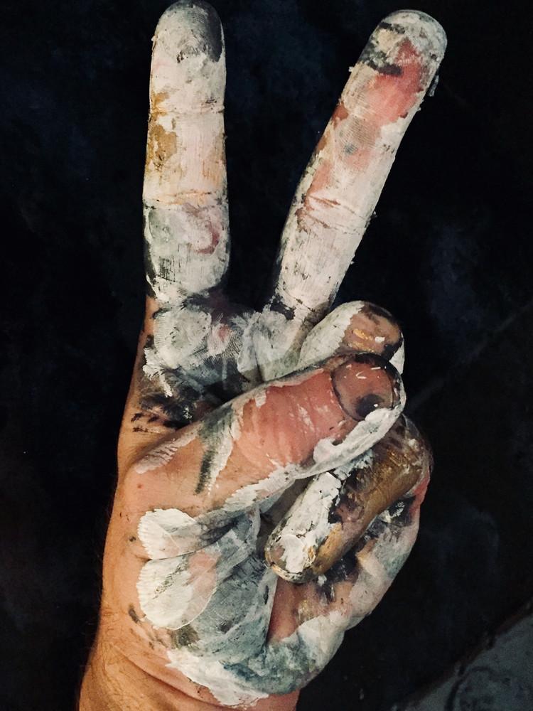 Peace Paint Art | Chuck Redick Art