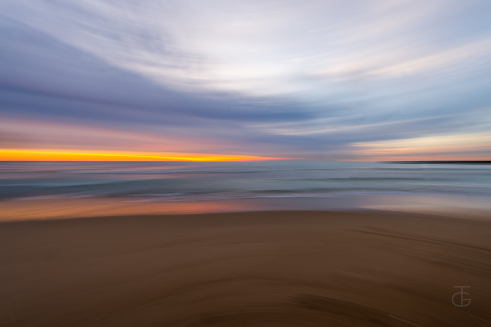 Beach Blur 2 Photography Art | Ted Glasoe, Artist