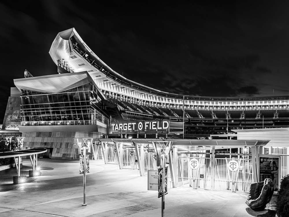 Target Field Black And White Photography Art | William Drew Photography