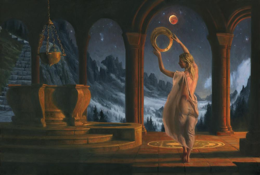 Red Moon Art | Studio Girard