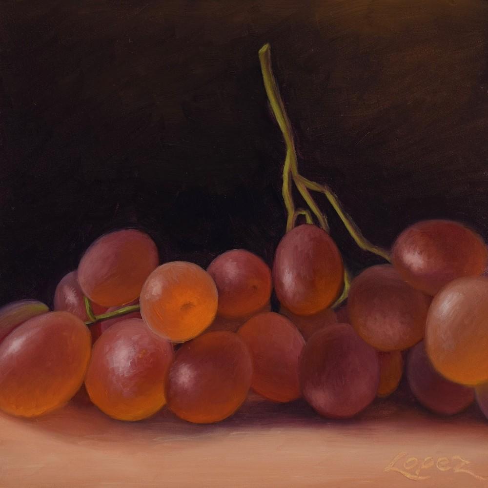 Table Grapes Art | Gema Lopez Fine Arts