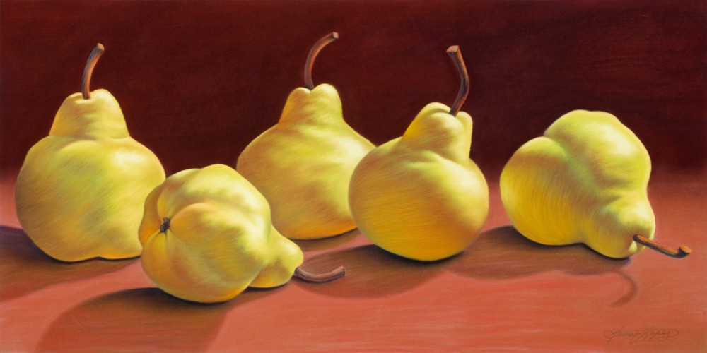 The Luscious Five Art | Gema Lopez Fine Arts