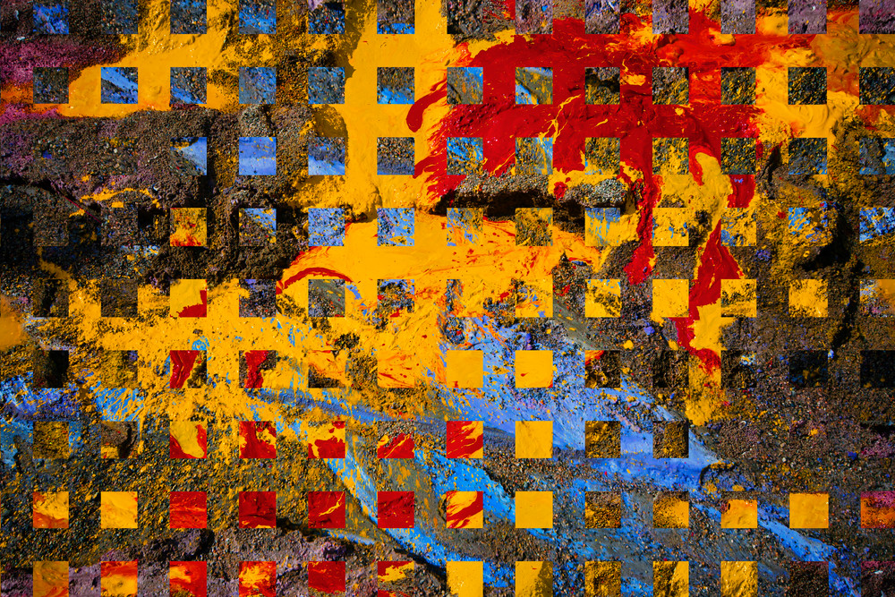 Misplaced Paint Remix #1 Art | James Alfred Friesen