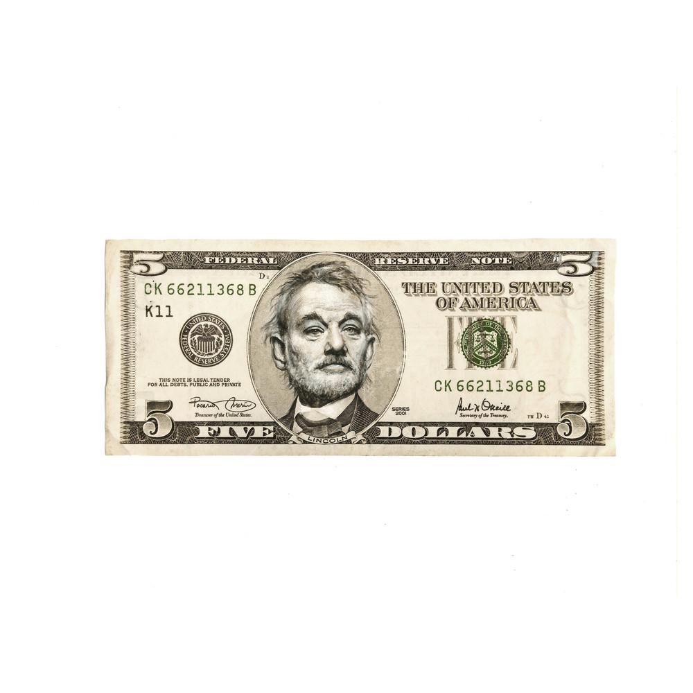 5 Dollar Bill Murray  Art | GINOZKO