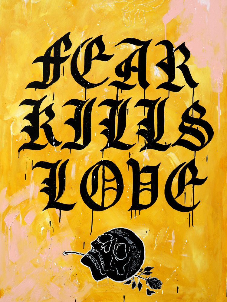 Fear Kills Love Art | GINOZKO