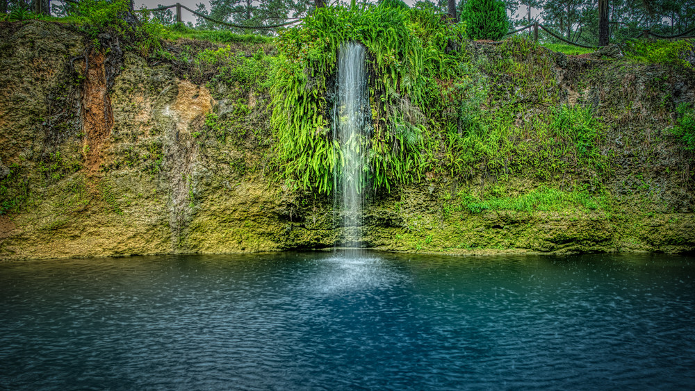 Rainy Afternoon At Blue Grotto Photography Art | Grace Fine Art Photography by Beth Sheridan