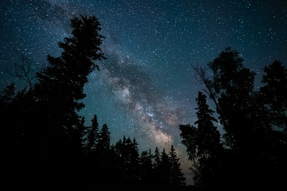 The Milky Way And Minnesota June 20 2020 Photography Art | William Drew Photography