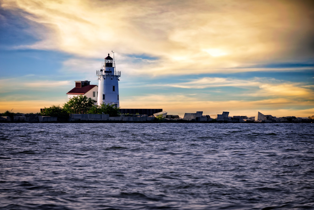 Cleveland Harbor West Pierhead Ligthhouse | Shop Photography by Rick Berk