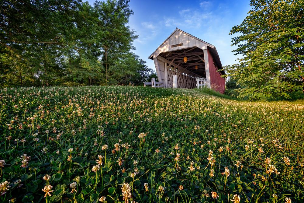 Imes Covered Bridge   Shop Photography by Rick Berk