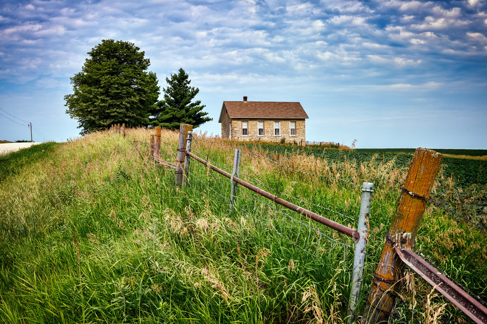 North River Stone Schoolhouse | Shop Photography by Rick Berk