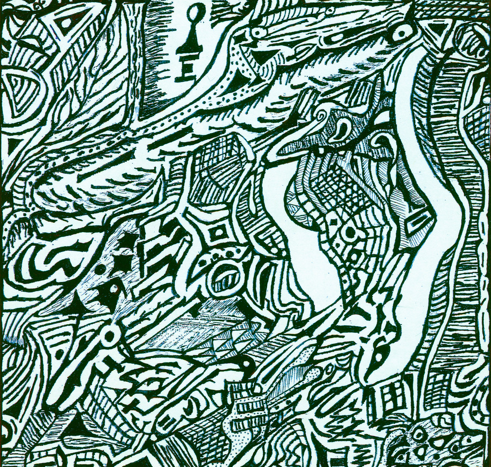 Blues Scale Series  #15 Art   Aldo Borromei