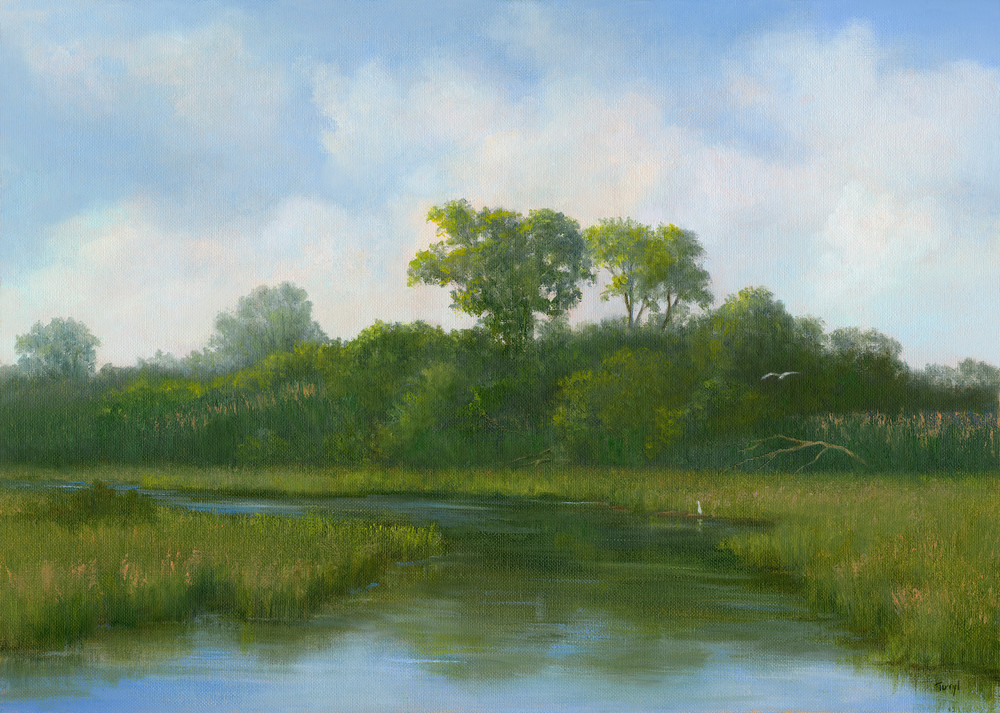 *Along The Manasquan River, Nj Art | Tarryl Fine Art
