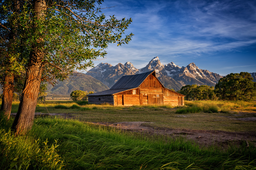 Morning at Moulton Barn | Shop Photography by Rick Berk