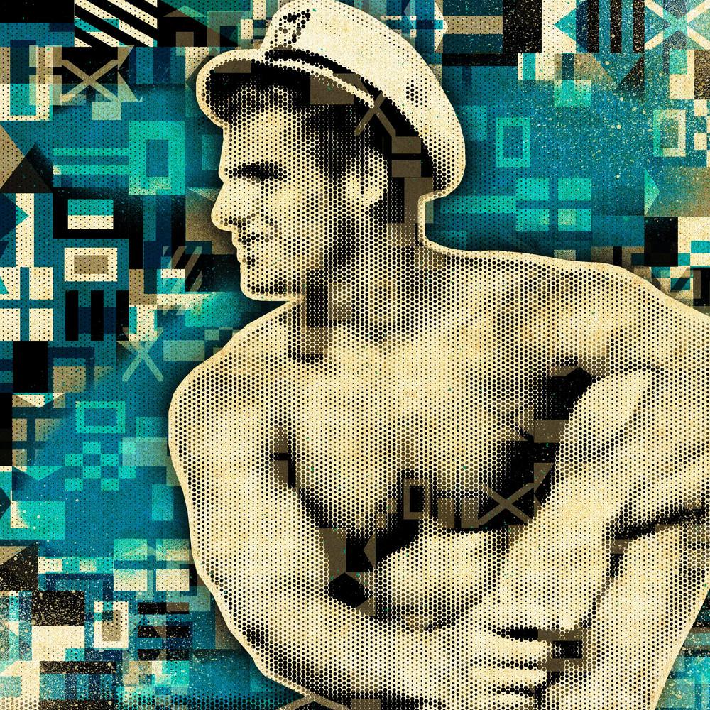 Sailor Art print, Nautical canvas Art, Vintage Sailor art, Gay art prints, Buy Pop art prints