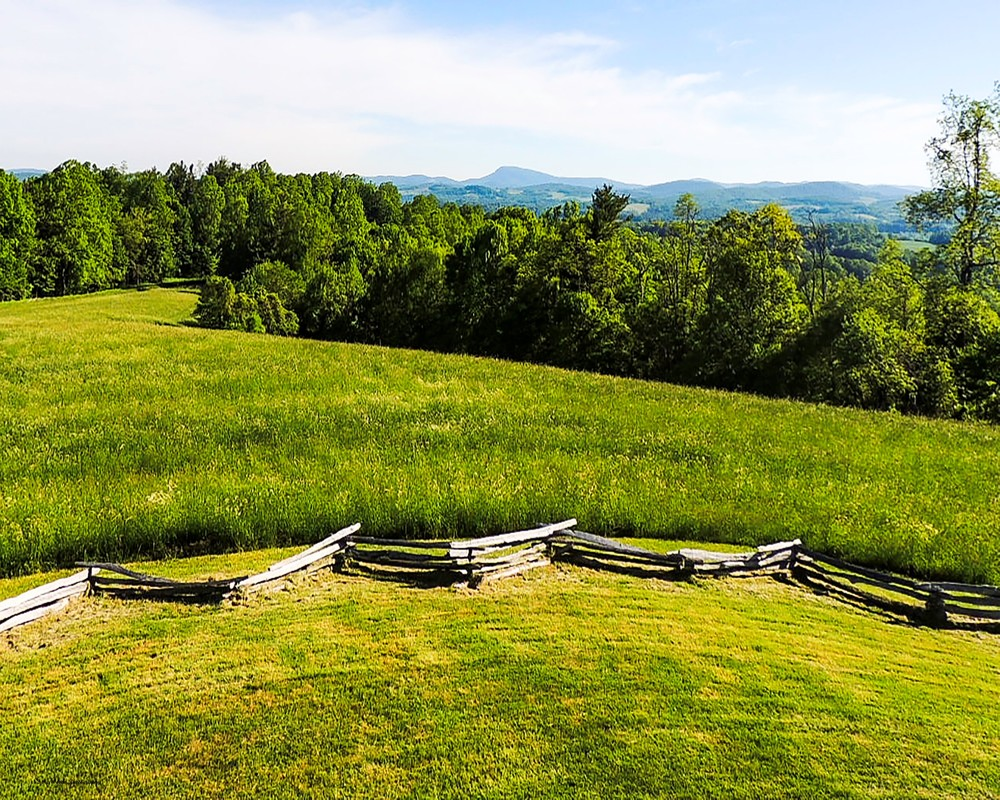 Moses Cone Plantation Overlook Photography Art | N2 the Woods Photography