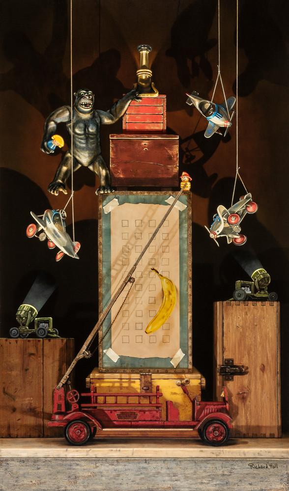 Night On The Town Art | Richard Hall Fine Art