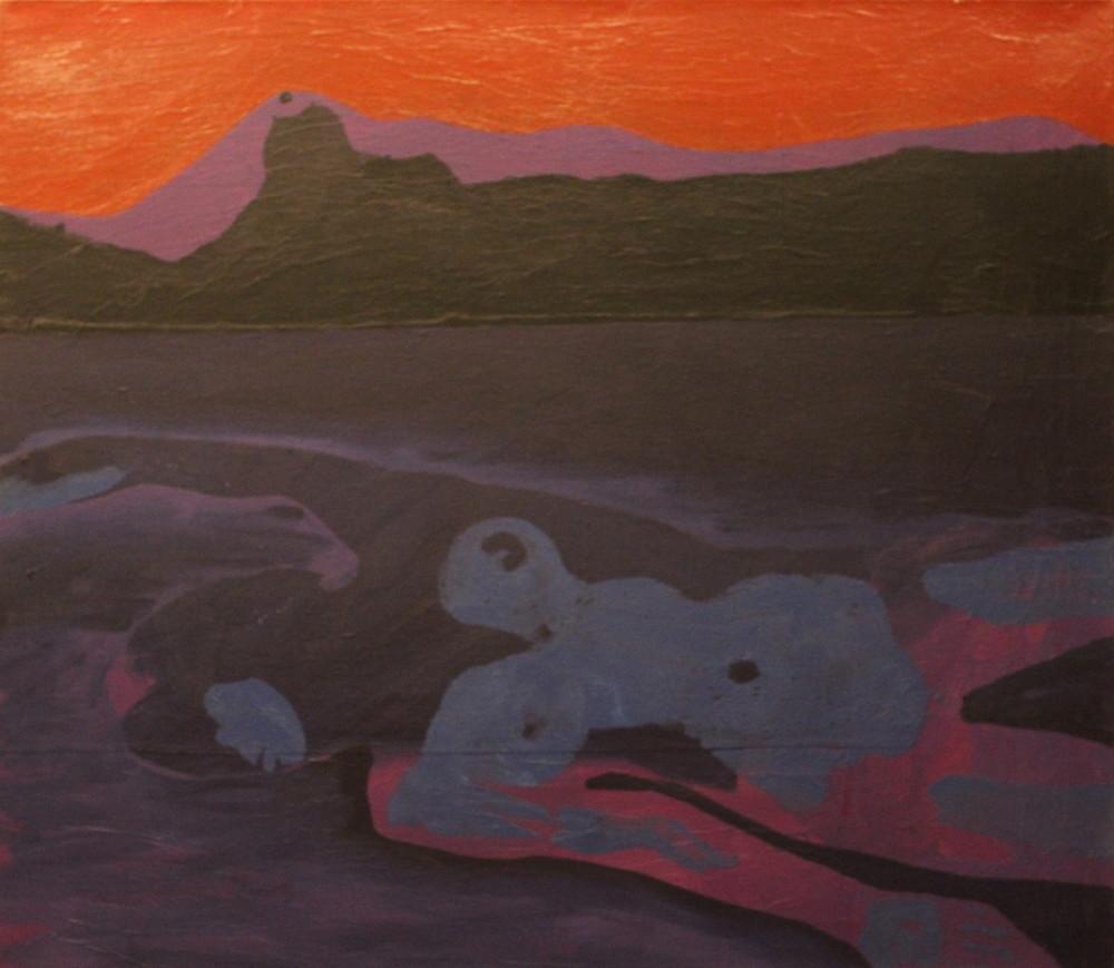 Swimmer Art   David R. Prentice