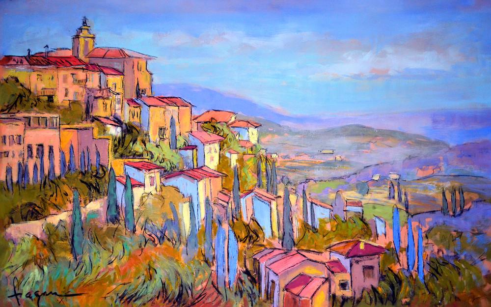 Cascading Dreams V (Lavender Fields Of Provence) Art | Dorothy Fagan Joy's Garden