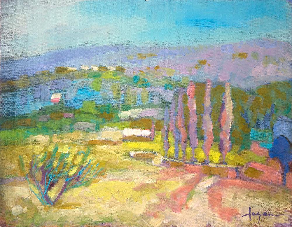 Field Of Dreams Art   Dorothy Fagan Joy's Garden