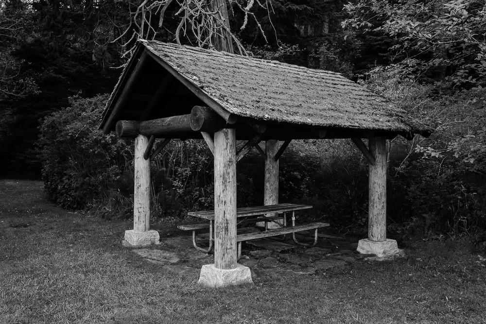 Bowman Bay Picnic Shelter, Deception Pass State Park, Washington, 2016