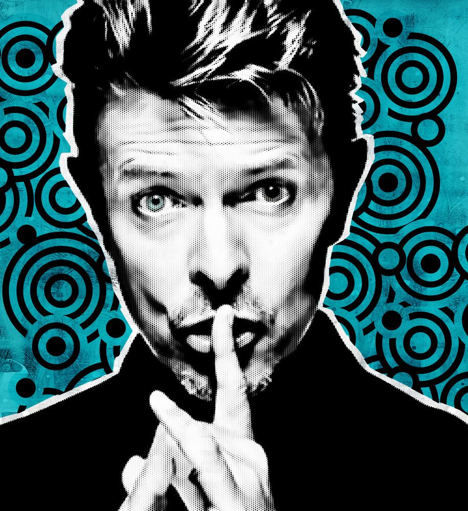 David Bowie Pop Art, David Bowie wall art, David Bowie print, David Bowie poster