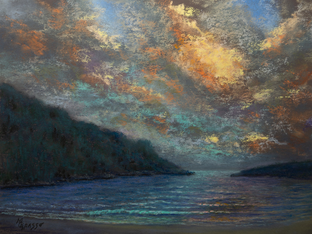 Ocean Solitude Art   Mark Grasso Fine Art
