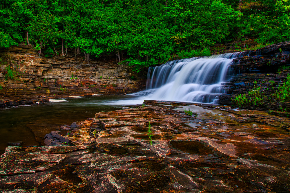 Below Woods Falls - Adirondack Mountains fine-art photography prints