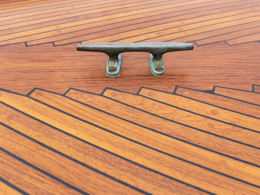 Decorative Teak Deck Planking
