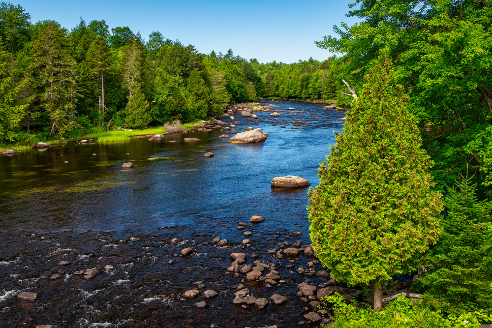 Great Chazy River Overlook - Adirondack Mountains fine-art photography prints