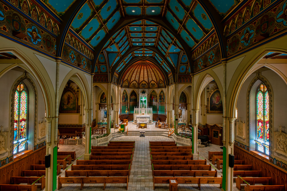 St. John Baptist Catholic Church of Plattsburgh, New York - Fine-art photography prints