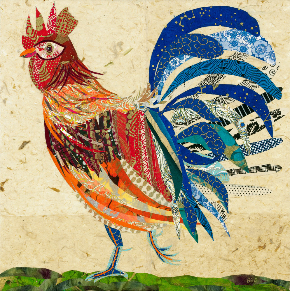 Rooster 1 Art   capeanngiclee