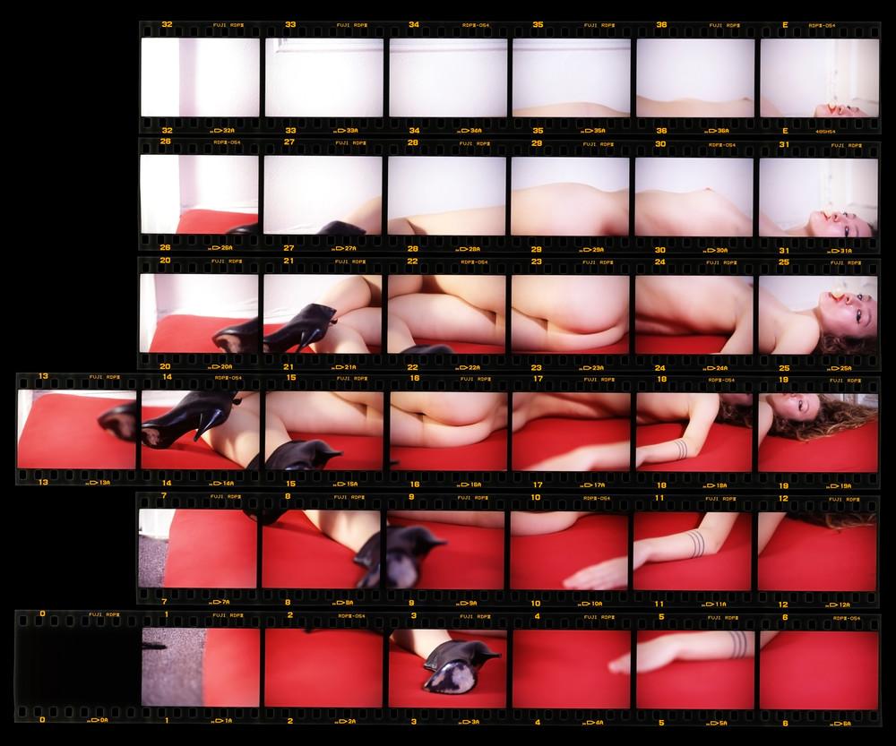 Woman Chewing Gum Art | Gaspar Marquez
