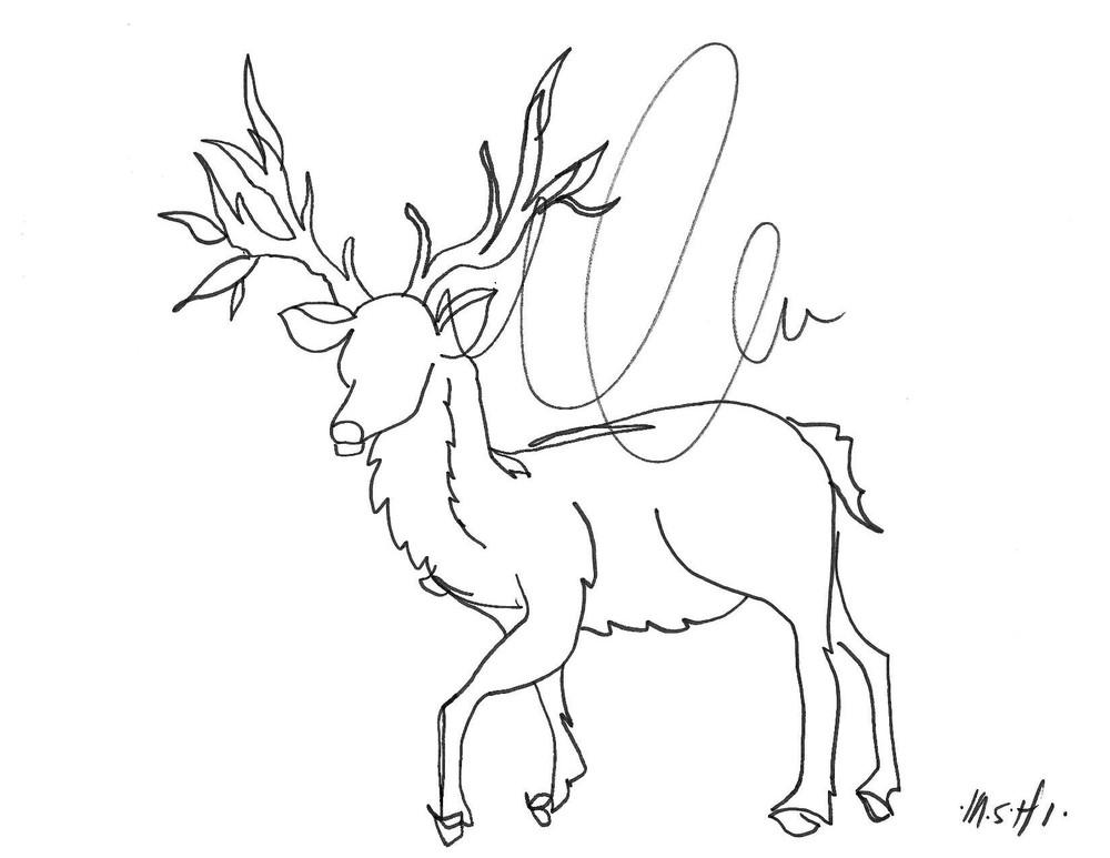 Deer Art | ashalmonte