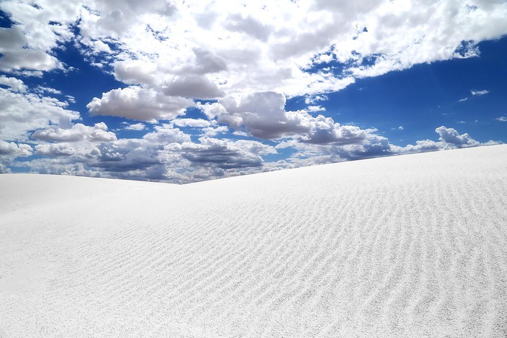 White Sands, Blue Skies Art | Chuck Redick Art