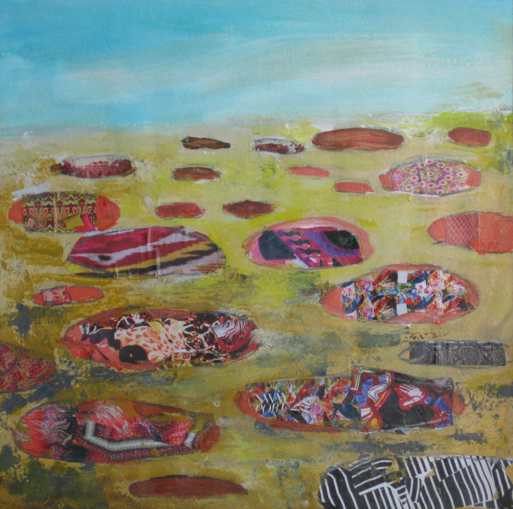"Print Of ""Paint Pots"" Art | Jennifer Ferris"