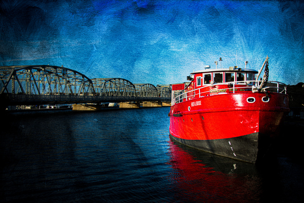 Fred A Busse Fire Boat