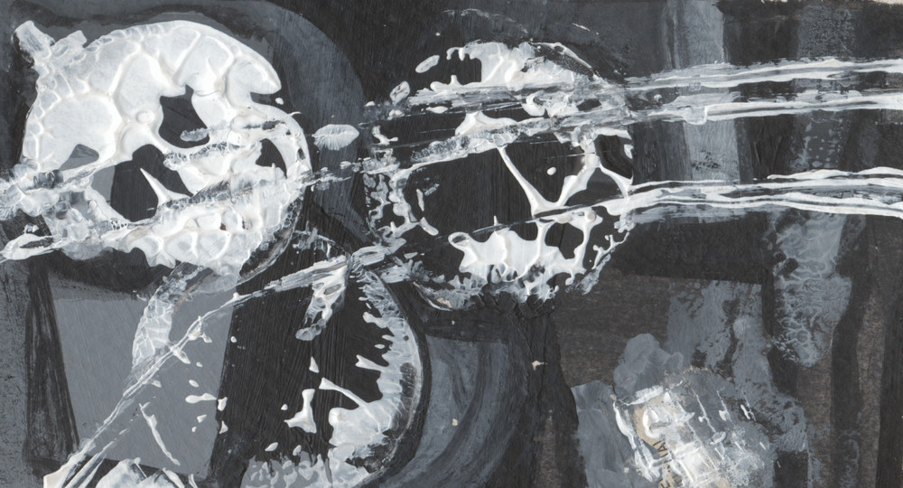 Black And White Miniatures : No. 16 Art | Stephanie Visser Fine Art