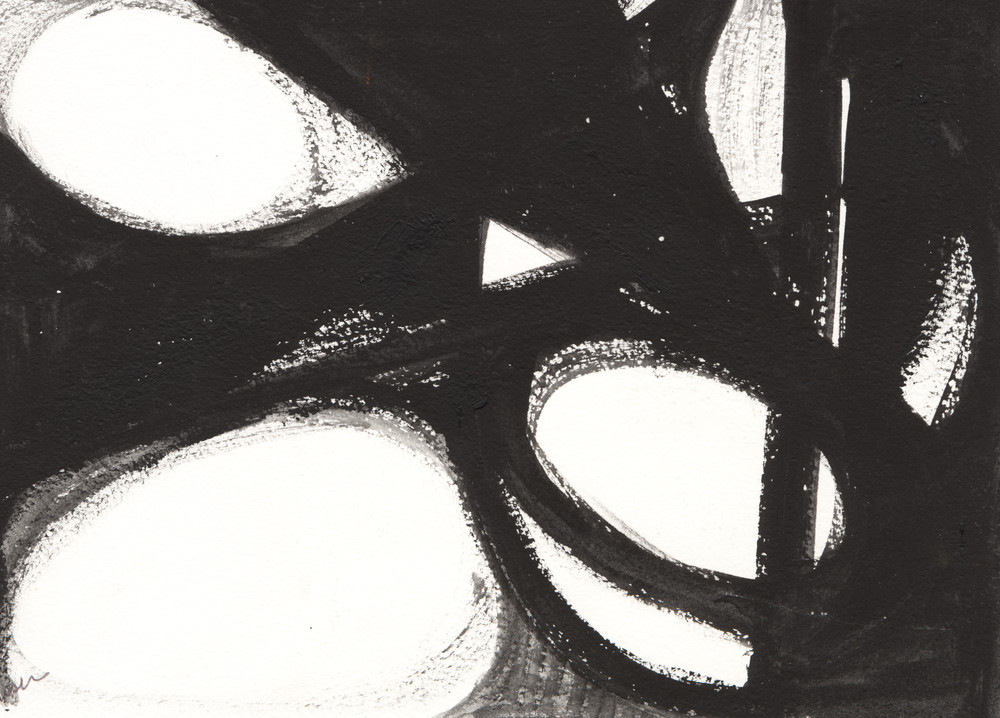 Black And White Miniatures : No. 9 Art | Stephanie Visser Fine Art