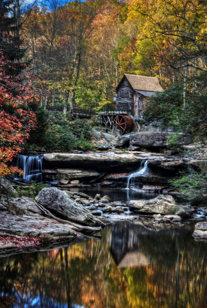Glade Creek Grist Mill Photography Art | Ken Smith Gallery