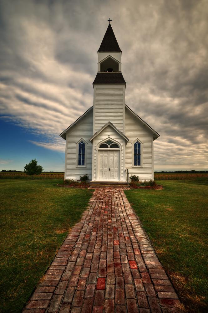 The Prairie Church Photography Art | Ken Smith Gallery