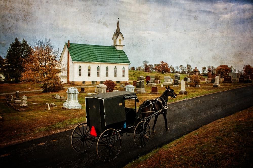 Amish Church Photography Art | Ken Smith Gallery