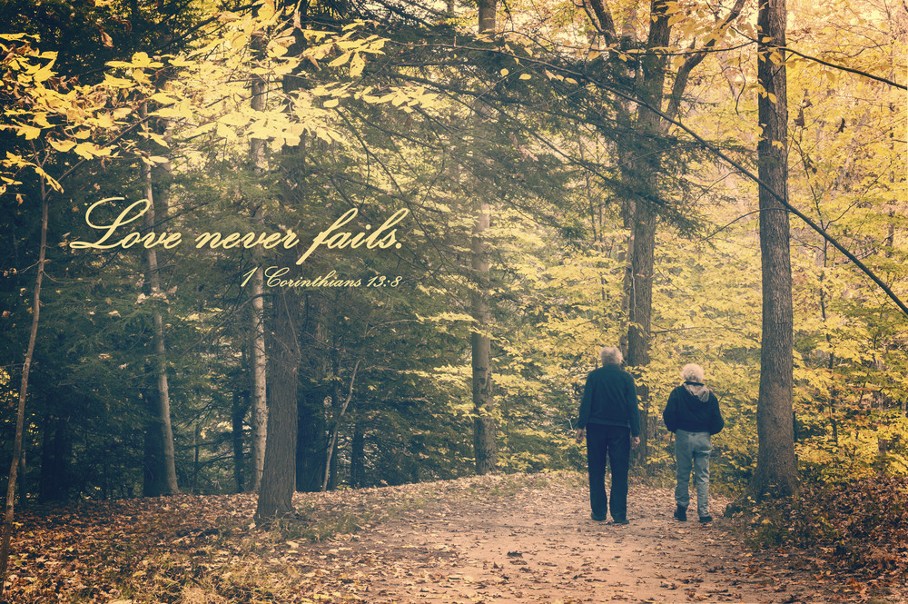 Love Never Fails Photography Art | Ken Smith Gallery