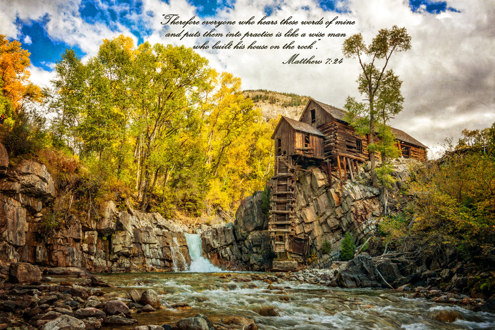 Matthew 7:24 Photography Art | Ken Smith Gallery