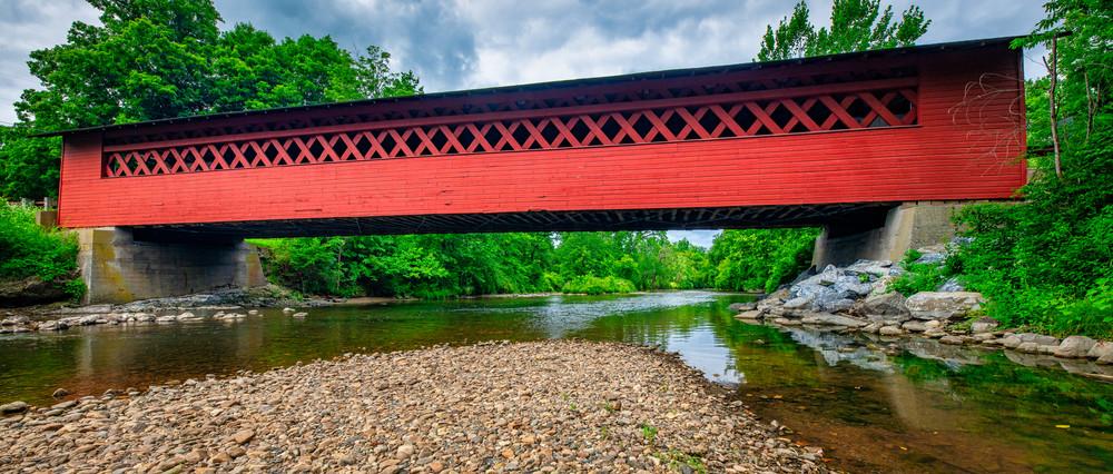 Burt Henry Covered Bridge - Vermont fine-art photography prints
