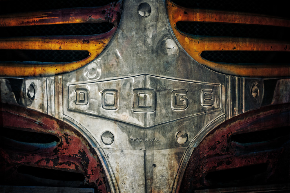 Dodge Made In The Usa Photography Art | Ken Smith Gallery