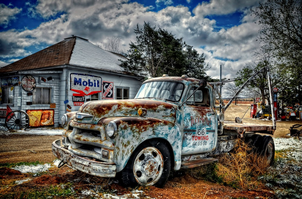Tucumcari Towing Photography Art | Ken Smith Gallery